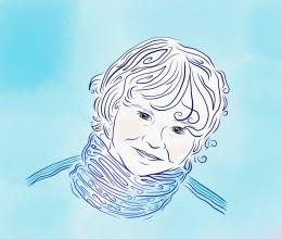 L'il Boy Blue (Portrait).